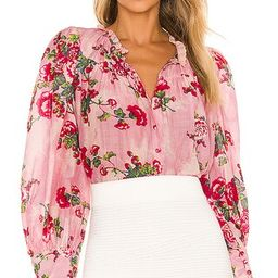 Lumiere Top in Pink Desert | Revolve Clothing (Global)