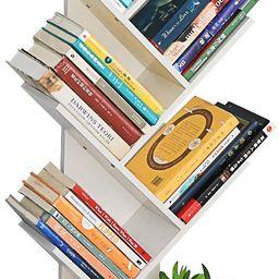 Genenic Tree Bookshelf with Drawers,8-Tier Floor Standing Bookcase,with Wooden Storage Rack Displ...   Amazon (US)