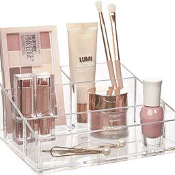 STORi Clear Plastic Vanity Makeup Organizer | Amazon (US)