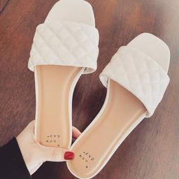 Target/Shoes/Women's Shoes/SandalsWomen's Ama Quilted Slide Sandals - A New Day™Shop all A N... | Target