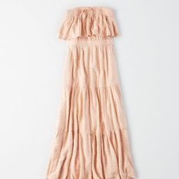 AE Tiered Tube Midi Dress | American Eagle Outfitters (US & CA)
