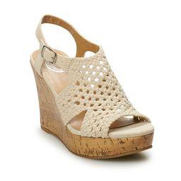SO® Taffy Women's Wedge Sandals   Kohl's