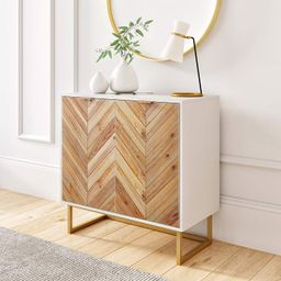 Nathan James Enloe Modern Storage, Free Standing Accent Cabinet with Doors in a Rustic Fir Wood F...   Amazon (US)
