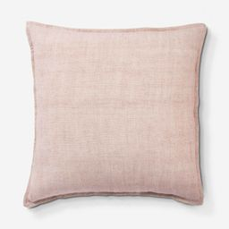 Emalita Linen Pillow, Cameo Rose | Lulu and Georgia