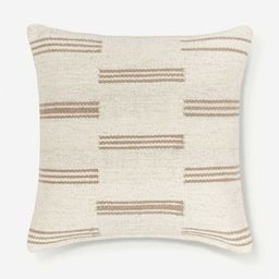 Stripe Break Pillow By Sarah Sherman Samuel | Lulu and Georgia