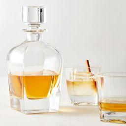 Claremont Liquor Decanter 3-Piece Gift Set | Pottery Barn (US)