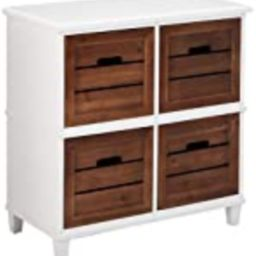 Urban Designs Two-Tone 4-Drawer Storage Chest   Amazon (US)