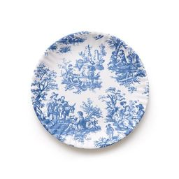 Mixed Floral Melamine Plate Set II | Caitlin Wilson Design