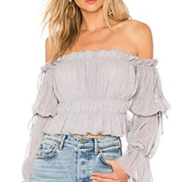 Tularosa White Sands Top in Grey from Revolve.com | Revolve Clothing (Global)