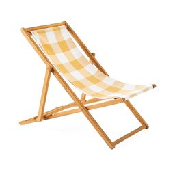 Teak Sling Chair | Serena and Lily