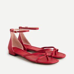 Strappy Abbie sandals | J.Crew US
