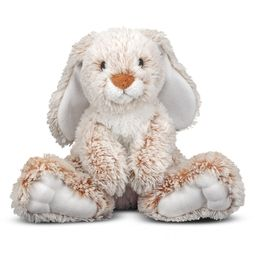 Melissa & Doug Burrow Bunny Rabbit Stuffed Animal (9 inches) - Walmart.com   Walmart (US)