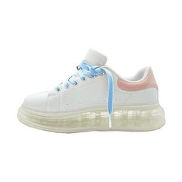 Air Mamas - White Blue Laces   Shop BURU
