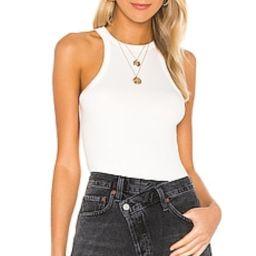 AGOLDE Rianne Bodysuit in White from Revolve.com | Revolve Clothing (Global)