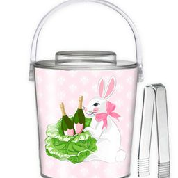 Bubbly Bunny Easter Ice Bucket, Pastel Pink | Taylor Beach Design