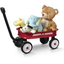 "Radio Flyer, Little Red Toy Wagon (12.5""), Miniature Wagon, Red | Walmart (US)"
