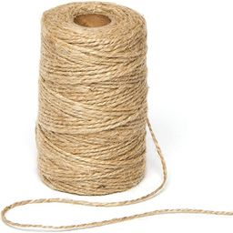Baker Ross AG222 Natural Textured Hessian Jute Twine for Crafting (2mm x 100m) | Amazon (UK)