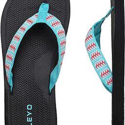 MEGNYA Women's Flip Flops/Sandals/Summer Beach Slippers   Amazon (US)