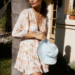 L Space Stay Golden Cover-Up Mini Dress By L Space in Assorted Size M | Anthropologie (US)