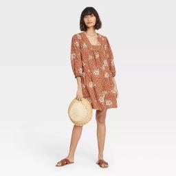 Women's Long Sleeve Shift Dress - Knox Rose™   Target