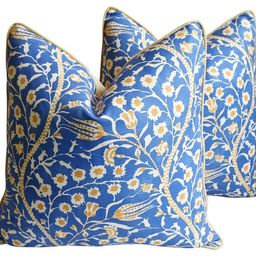Clarence House Floral Fabric Pillows, Pr | One Kings Lane