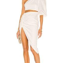 SAU LEE Jolene Dress in White from Revolve.com | Revolve Clothing (Global)
