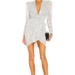 IRO Daz Dress in Silver from Revolve.com | Revolve Clothing (Global)