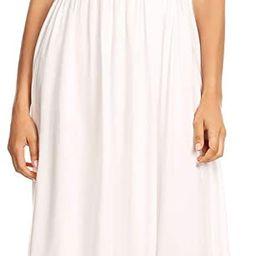Anna-Kaci Womens Boho Peasant Ruffle Stretchy Short Sleeve Long Dress | Amazon (US)