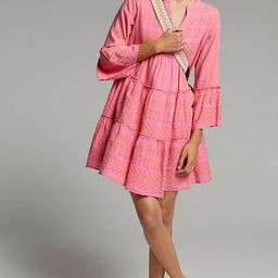 Petra Embroidered Tunic Dress   Anthropologie (US)