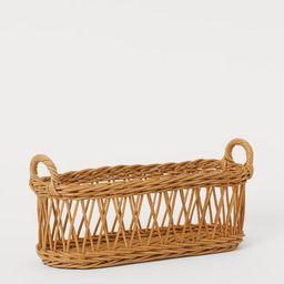 Braided storage basket | H&M (UK, IE, MY, IN, SG, PH, TW, HK, KR)