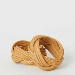 2-pack rattan napkin rings | H&M (UK, IE, MY, IN, SG, PH, TW, HK, KR)
