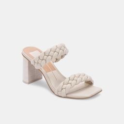 PAILY HEELS IN IVORY STELLA | DolceVita.com