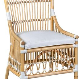 East at Main Lafayette Rattan Dining, Natural and White, Set of 2 Chair | Amazon (US)