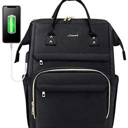 Amazon.com: Laptop Backpack for Women Fashion Travel Bags Business Computer Purse Work Bag with U...   Amazon (US)
