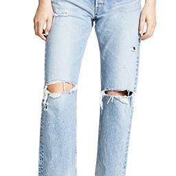 MV Odessa Wide Straight Jeans | Shopbop