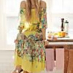 Eliora Off-The-Shoulder Maxi Dress   Anthropologie (US)