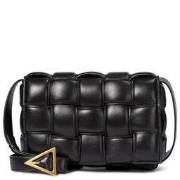 Padded Cassette leather shoulder bag   Mytheresa (US)