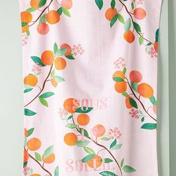 Carly Watts Clementine Dish Towel | Anthropologie (US)