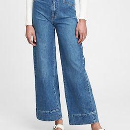 Sky High Wide-Leg Jeans   Gap (US)