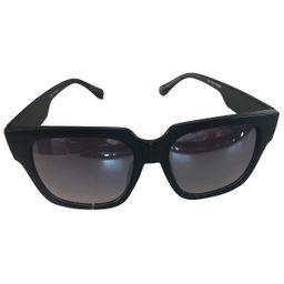 Quay Black Plastic Sunglasses | Vestiaire Collective (Global)