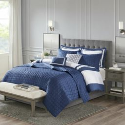 Baucom Patchwork 8 Piece Comforter Set | Wayfair North America