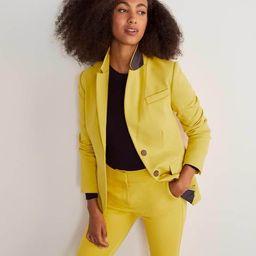 Smyth Ponte Blazer Chartreuse Women Boden   Boden (US)