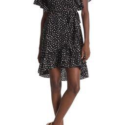 Max Studio | Floral Print Wrap Ruffle Dress | Nordstrom Rack | Nordstrom Rack