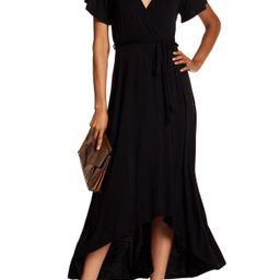 WEST KEI | Flutter Sleeve High/Low Wrap Dress | Nordstrom Rack | Nordstrom Rack
