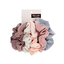 Kitsch Matte Scrunchies for Hair, Hair Scrunchies for Women, Scrunchy Hair Bands, 5 Pack (Blush/M... | Amazon (US)