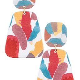 Casa Clara Virginia Drop Earrings in Speckled from Revolve.com | Revolve Clothing (Global)