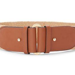Women's Straw Stretch Belt   Macys (US)