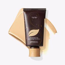 Amazonian clay full coverage foundation SPF 15 | tarte cosmetics