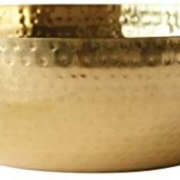 "Creative Co-Op Round Hammered Metal Bowl, 14"", Gold,DA7392 | Amazon (US)"