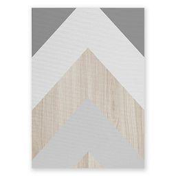 Deny Designs Iveta Abolina Chevron Peak Canvas Wall Art | Bed Bath & Beyond | Bed Bath & Beyond